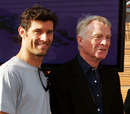 Mark Webber and Max Mosley pose for a photo