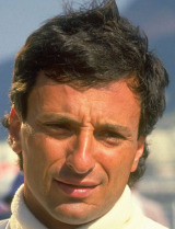Riccardo Patrese of Williams Judd at the 1988 Brazilian Grand Prix