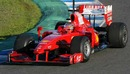 Jules Bianchi out on track for Ferrari
