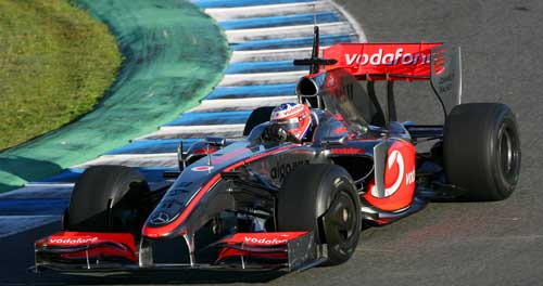 Gary Paffett was testing for McLaren at Jerez