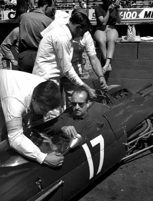 Maurice Trintignant, Formula One World Championship, Monaco, 1963