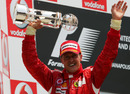 Michael Schumacher wins his third grand prix of the season