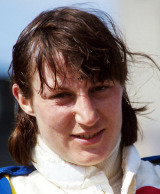 Formula One World Championship driver Desire Wilson, 1980