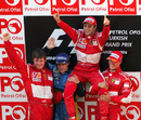 Felipe Massa celebrates his maiden grand prix victory in Turkey