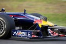 Red Bull were testing with a strange addition to its car's nose at jerez