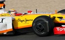 Ho-Ping Tung was testing for Renault on Wednesday at Jerez