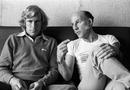 James Hunt and Stirling Moss at Zandvoort