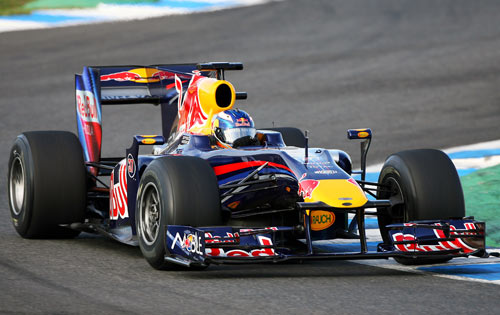 Daniel Ricciardo has had a solid three day test at Red Bull