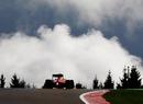 Fernando Alonso crests Eau Rouge
