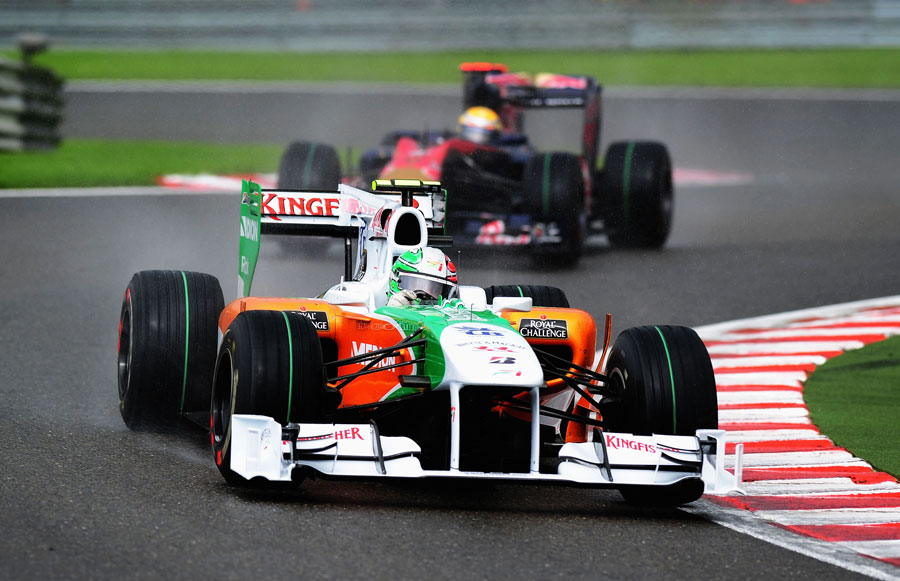 Tonio Liuzzi benefitted from a penalty to Jaime Alguersuari to grab tenth