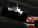 Robert Kubica out on track in the BMW Sauber
