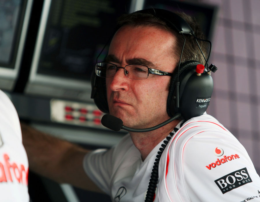 McLaren director of engineering Paddy Lowe