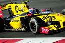 Vitaly Petrov, running Renault's new F-duct