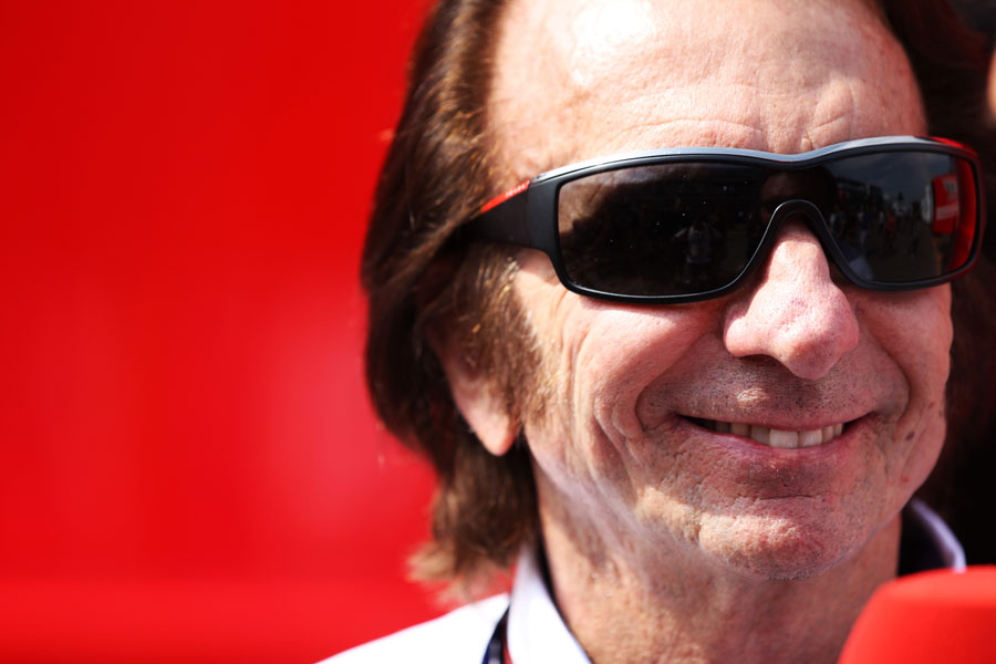 Emerson Fittipaldi was the ex-racing driver acting as a steward for the race