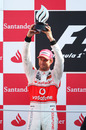 Jenson Button finishes second at the Italian GP