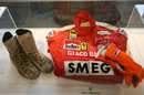 Gilles Villeneuve's overalls, boots and gloves