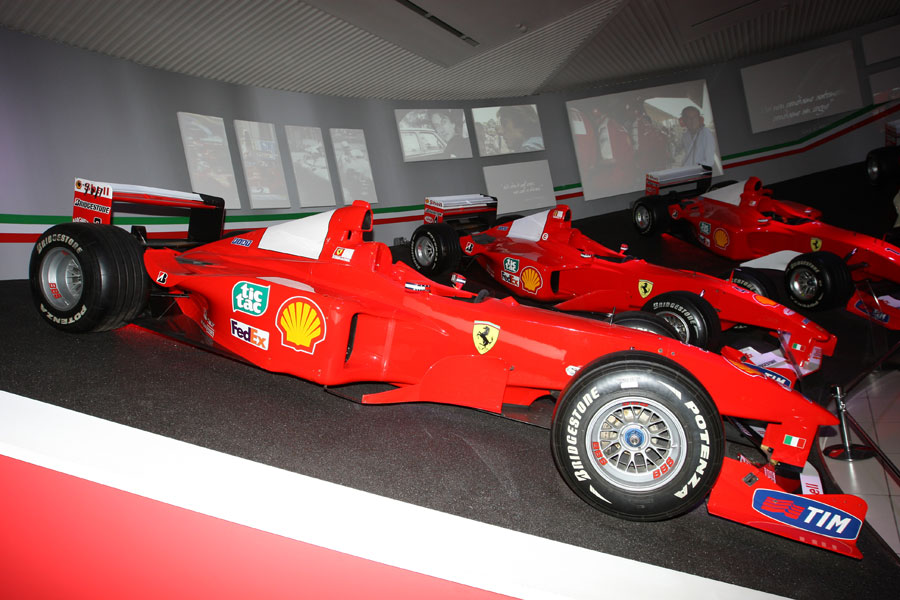 The Ferrari 399 driven in the 1999 Formula One season