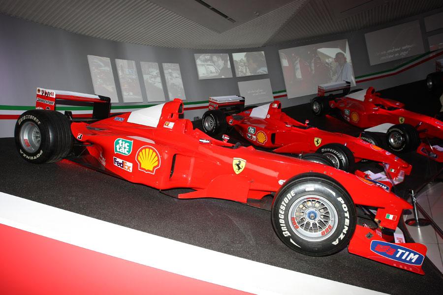 The Ferrari 399 driven in the 1999 Formula One season