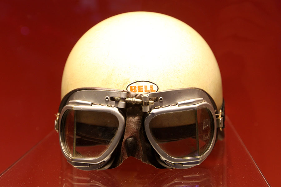 Helmet of the only  American F1 World Champion Phil Hill