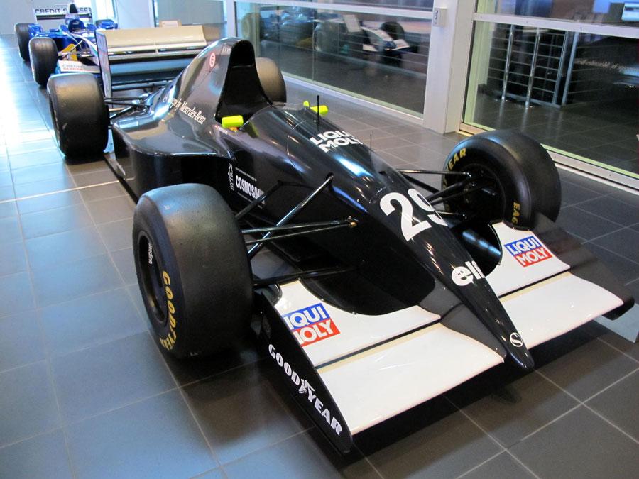 1993 Sauber C12 of Karl Wendlinger