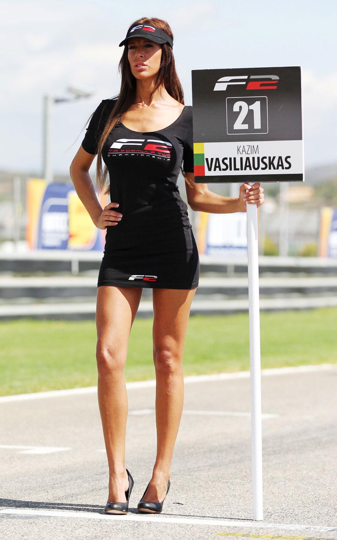 Grid Girl In Valencia Formula 1 Photos Espn Co Uk