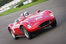 Sir Stirling Moss on track in his OSCA