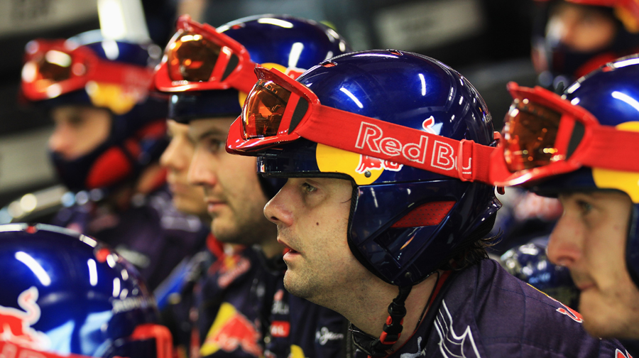 Tension mounts among the Red Bull team