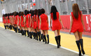Girls at the grand prix