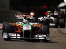 Adrian Sutil keeps Nico Hulkenberg at bay