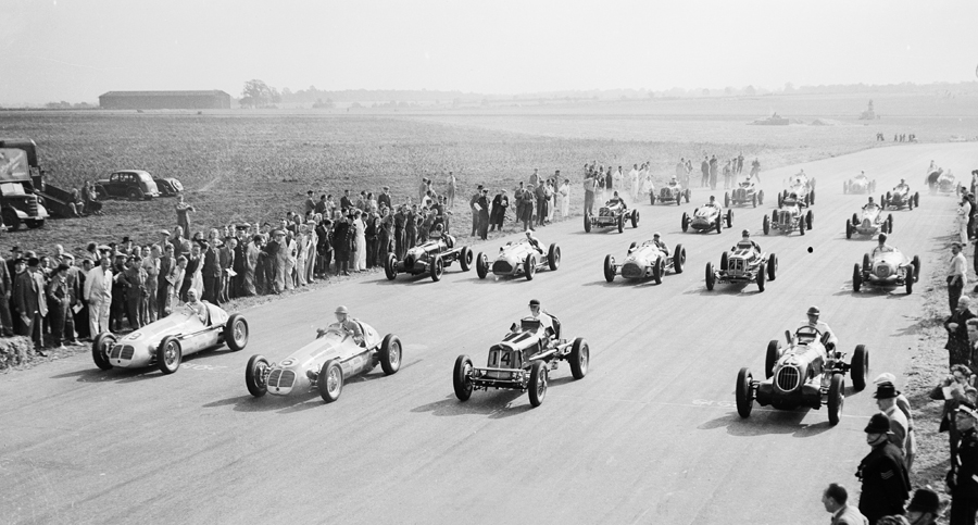 The second row starts the British Grand Prix
