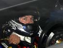 Kimi Raikkonen in the cockpit of his Citroen