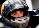 Jaime Alguersuari sits in the Toro Rosso cockpit