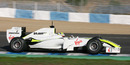 Marcus Ericsson tested for Brawn GP at the young driver testing
