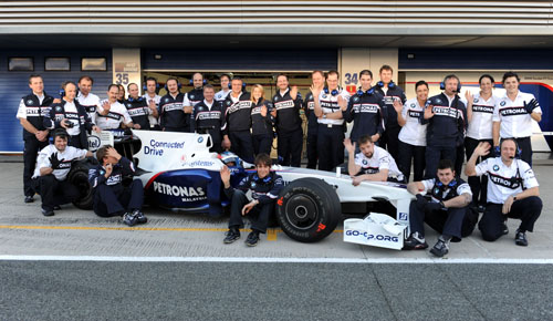 The BMW F1 team bid farewell to F1