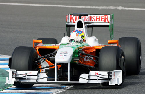 Paul di Resta tests for Force India
