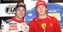 Kimi Raikkonen has driven alongside big names in rallying