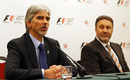 Damon Hill and Richard Phillips announced Silverstone's British GP deal