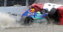 Felipe Massa had a massive crash at Montreal in 2004