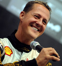 Michael Schumacher at the Race of Champions