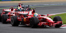 Ferrari dominated in France