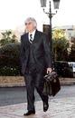 Bernie Ecclestone arrived for the FIA meeting in Monaco