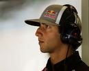 Daniel Ricciardo in the Red Bull garage