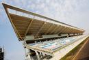 The main grandstand at the Korean International Circuit