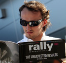 Robert Kubica brushes up on his rally knowledge