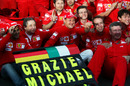 Michael Schumacher bids farewell to Formula One ... or so it seemed