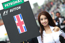 Grid girl in Korea