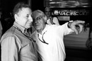 Bernie Ecclestone with FIA President Jean Todt