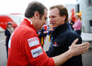 Ferrari team boss Stefano Domenicali