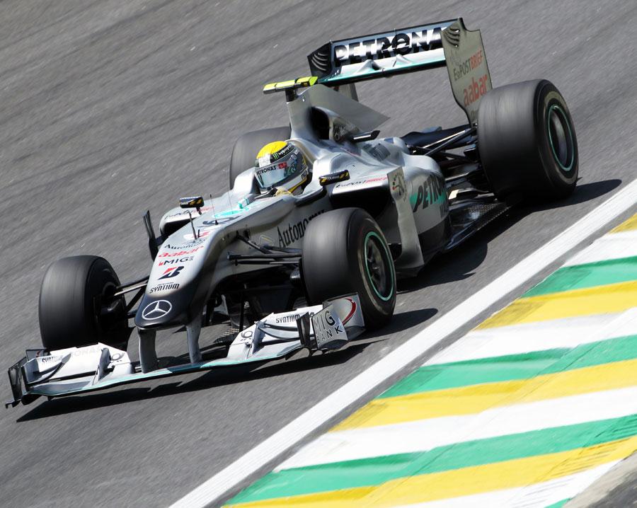 Nico Rosberg picks his turn-in point