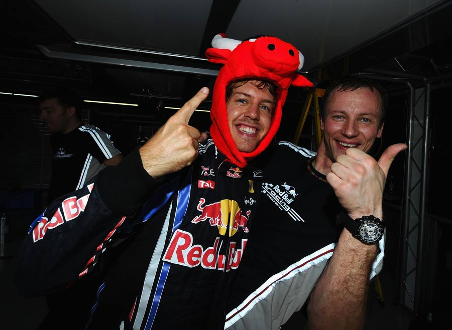 Sebastian Vettel in bullish mood